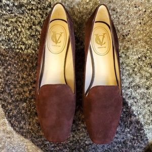 Vince Camuto Shoes - Vince Camuto Mabel Suede Wedge Loafer